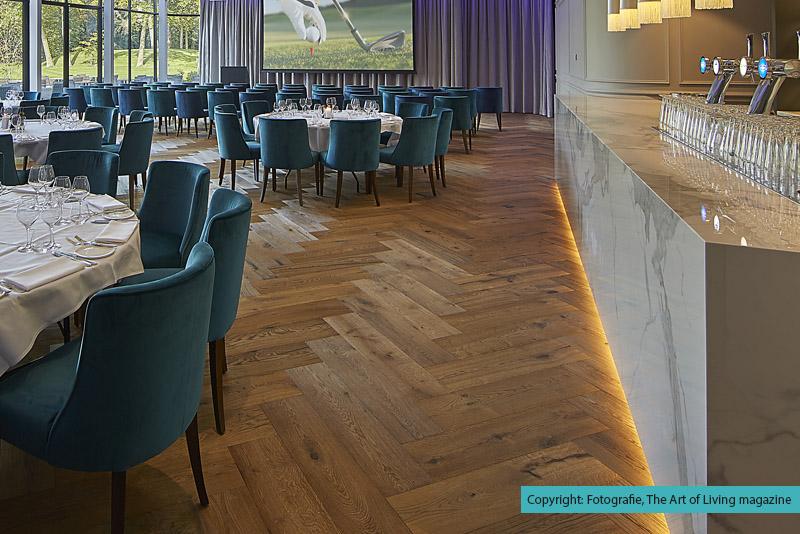 Hotel the duke houten vloer